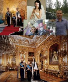 Коллаж «Королевская семья»