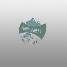 "Логотип ""Taimen Smokes 2"""