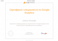 AdWords по Google Analytics