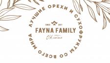 Визитка для компании Fayna Family