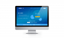Адаптивний дизайн сайту криптовалют