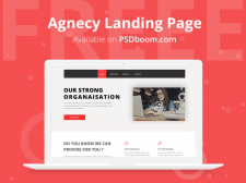 Agnecy landing page