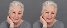 ретушь лица с сохранением возраста
