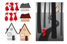 Розробка персонажів та ілюстрації до книжки
