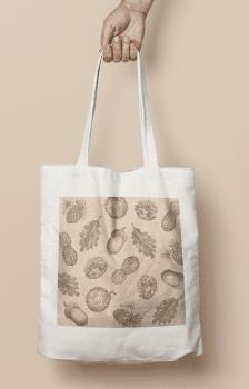 "дизайн сумки ""Аutumn print"""