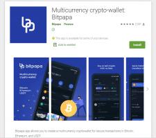 Bitpapa crypto-wallet
