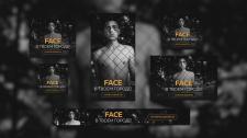 Баннеры для рекламы концертов FACE