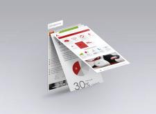 Avancore. Web-design, UI, UX-design, vector