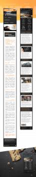 Редизайн главной страницы моб. версии Avtomag50