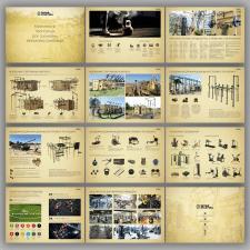 дизайн и верстка презентации спортивного комплекса