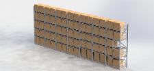 Стеллаж в склад (3.5x10x0.9) _1