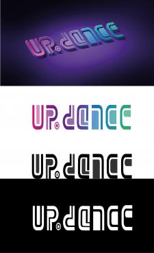 """логотип для танцевальной студии """"up.dance"""""""
