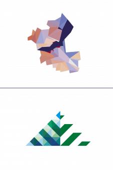 """Лого в стиле """"кристал"""""""