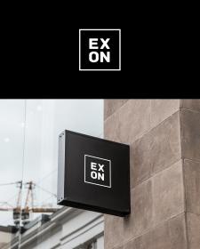 Exon. Construction company. Logo