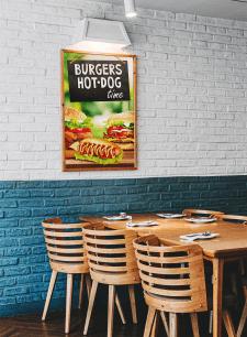"""Постер """"БургерТайм"""""""
