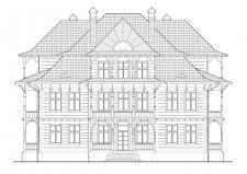 2 д креслення фасаду