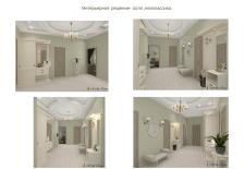 Просторный Холл с элементами класики