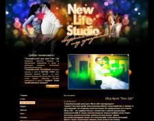 "Шаблон для сайта компании ""New Life Studio"""