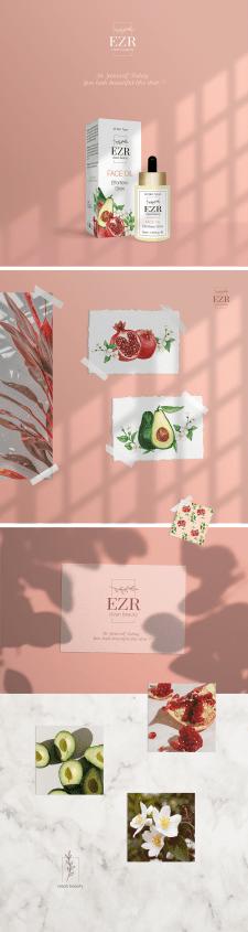 Дизайн упаковки косметического масла