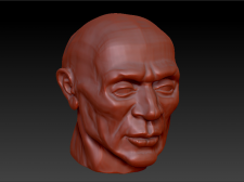 Голова 3D