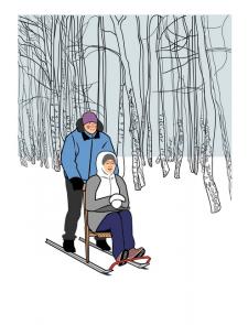 Зимние покатушки