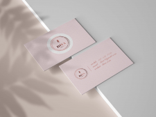 Business card for nail studio