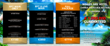 Баннер для покер-клуба на Кипре