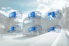 иконки траков для перевозок