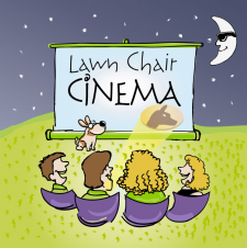 Illustration for private cinema theater
