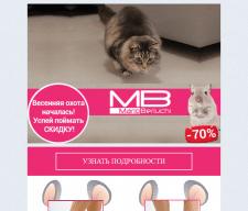 Разработка и верстка макета для email-рассылки