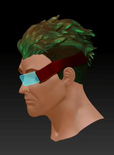 персонаж в 3D