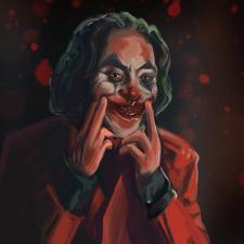 Портрет Джокера на заказ