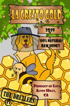 Етикетка для банки з медом
