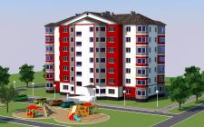 Проект жилого дома на 28 квартир