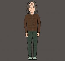 Персонаж под 2D-анимацию