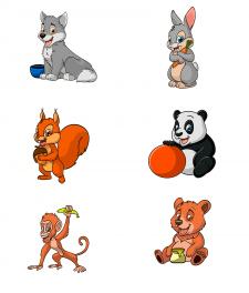 иллюстрации животных