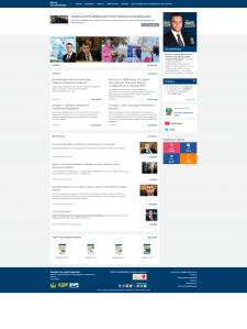 Персональный сайт для депутата Екатеринбурга