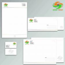 Логотип и канцелярия для Индийской компании