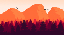 Пейзаж скал