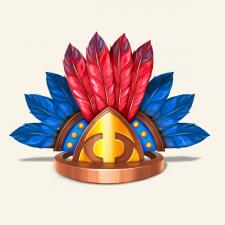 Корона ацтеков.