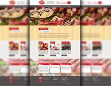 дизайн сайта (мясопродукты)