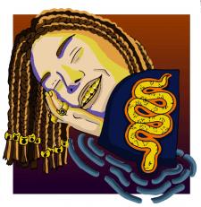 Золото на шее