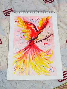 """""""Красная птица гнева"""""""