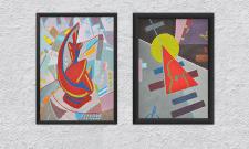 Рисунки в стиле абстракционизм