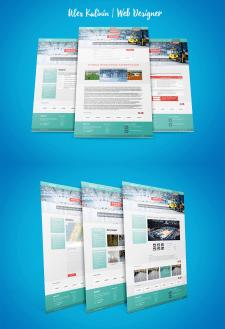 Дизайн сайта строительной компании ФОРСАТ