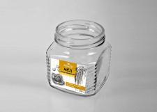 "Этикетка и логотип мёд ""Honey23"""