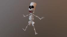 Скелет Барта Симпсона