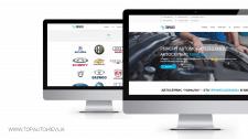 Сайт для сто + интернет-магазин автозапчастей