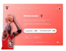 Basketball Player Michael Jordan Card