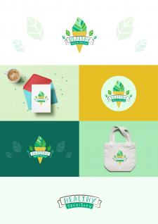 Логотип для интернет-магазина здорового питания
